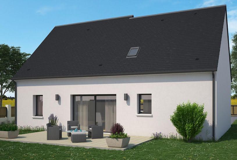Vente Terrain + Maison - Terrain : 1108m² - Maison : 110m² à Joué-lés-Tours (37300)