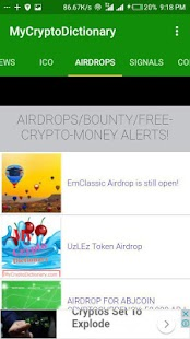 My Crypto Dictionary (MyCD) App- screenshot thumbnail