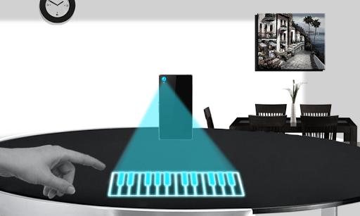 Virtual Piano Simulator :Prank