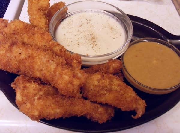 Chicken Tenders With Honey Mustard Sauce