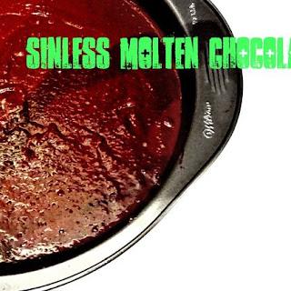 Healthy Chocolate Molten Cakes