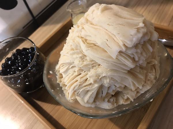 Mr.雪腐x永和隱藏冰店x80元珍珠奶茶煉乳珍珠超多冰
