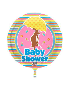 Folieballong, babyshower