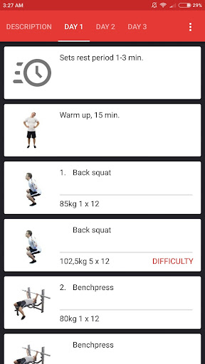SmartFit - Gym Personal Trainer, Strength training  screenshots 4