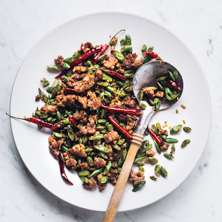 Sichuan-Style Green Beans with Pork