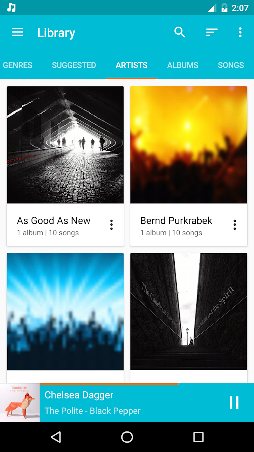 Shuttle+ Music Player- screenshot