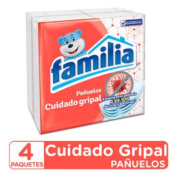 Pañuelos FAMILIA Cuidado   Gripal x4Und