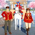 Tricks SAKURA School Simulator 2020 icon
