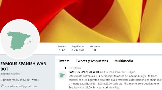 La cuenta de Twitter que mata famosos a cada hora
