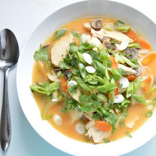 Coconut Curry Chicken Noodle Soup