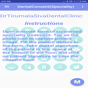 DentalConsent(Speciality) for PC-Windows 7,8,10 and Mac apk screenshot 2