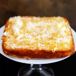 Lemon Drizzle Cake.