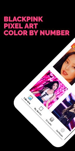 BLACKPINK Pixel Art - Color by Number 16.9.2020 screenshots 1