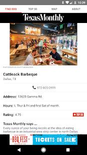 Texas Monthly BBQ Finder