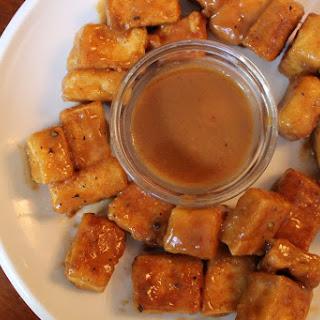 Baked Tofu in Thai Peanut Sauce Recipe