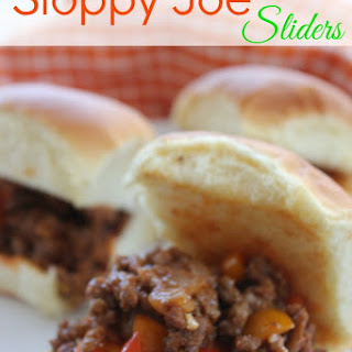 Sloppy Joe Sliders.
