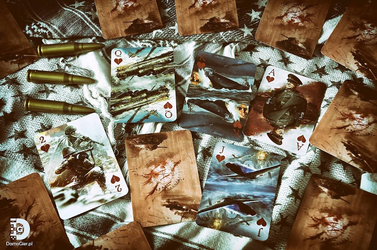 II wojna światowa alianci karty