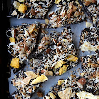 Healthy Fruit and Nut Bark.