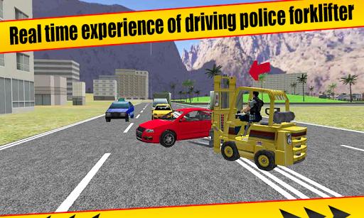 Police ForkLift vs Crime Town