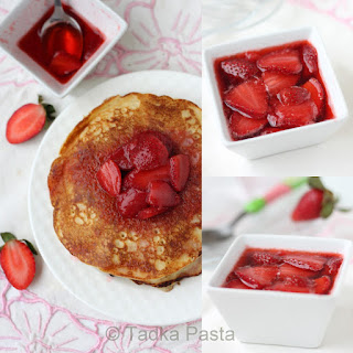 Healthful and Heavenly - Wholegrain pancakes.