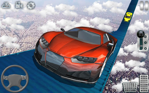 Impossible Tracks Car Stunts Driving: Racing Games apkslow screenshots 13