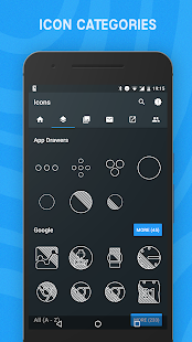 Blueprint icon pack beta android apps on google play blueprint icon pack beta screenshot thumbnail malvernweather Image collections