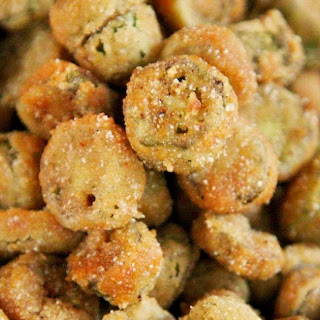 2-Ingredient Fried Okra.