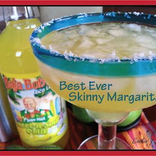 Best Ever Skinny Margarita.