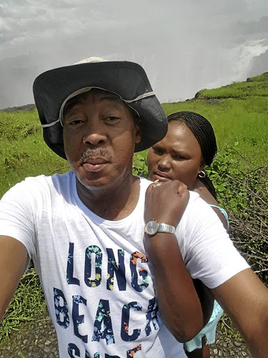 Baba Mthethwa with estranged wife Koosimile from whom he is demanding half of her estate after she filed for divorce