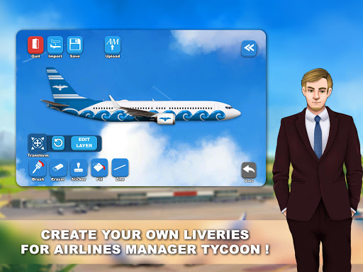Airlines Painter  Wallpaper 5