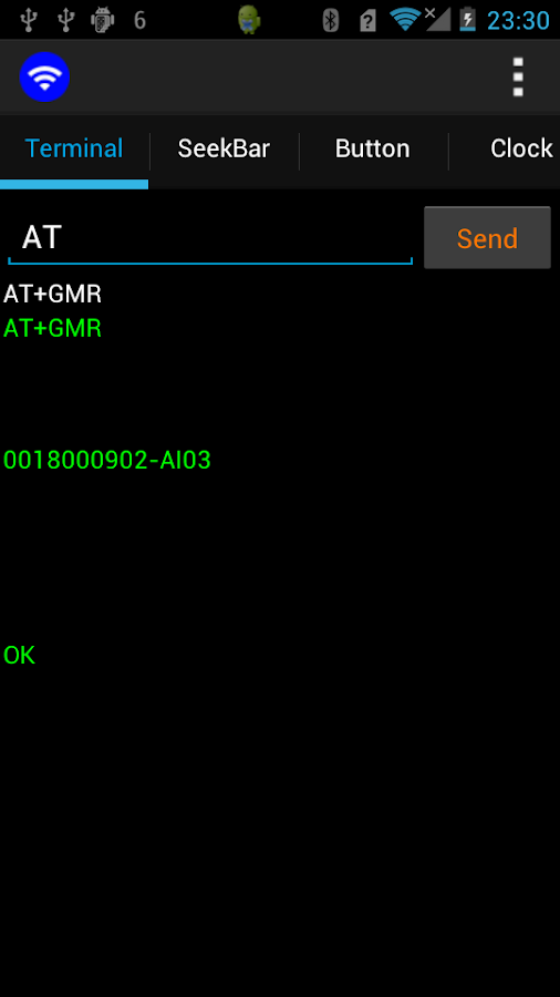 BT Various Input for Bluetooth (SPP)- screenshot