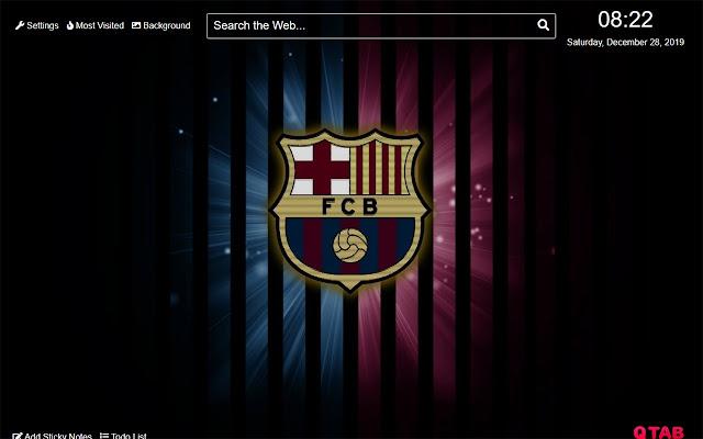 Barcelona FC Wallpaper for New Tab