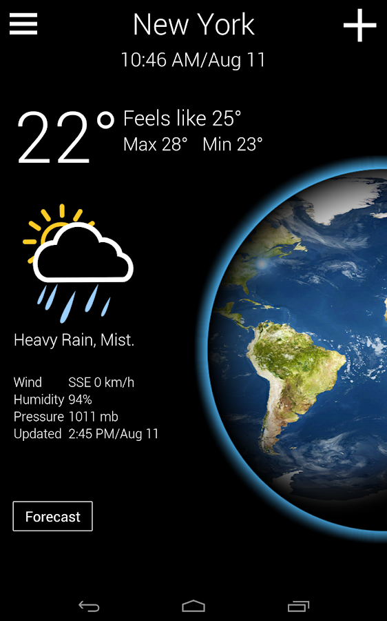Real Weather - Free Forecast- screenshot