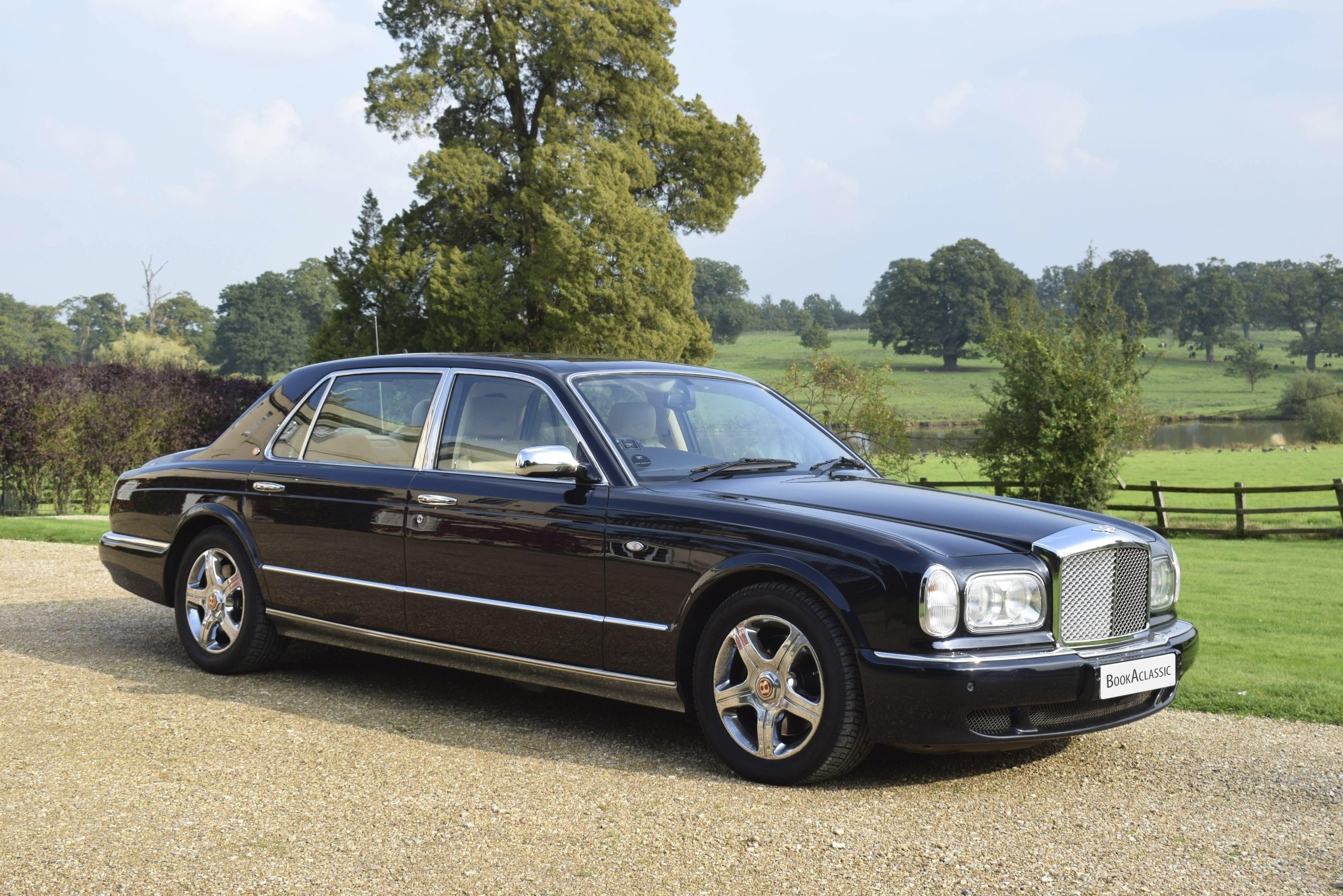 Bentley Arnage Limousine Mulliner Hire Reading