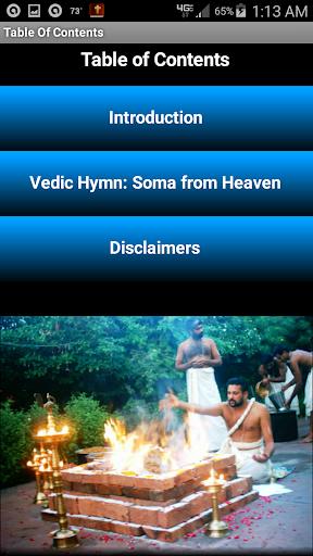 Vedic Hymn: Soma from Heaven screenshot 2