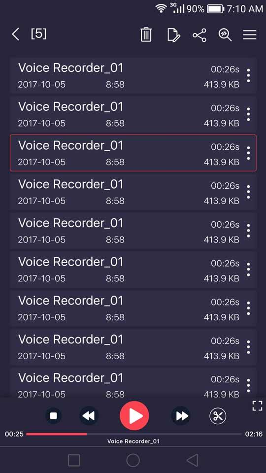 voice recorder v23 0 For Android APK Download - DLoadAPK
