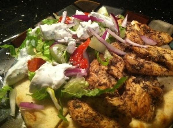 Chicken Gyro N Tzatziki Sauce Recipe