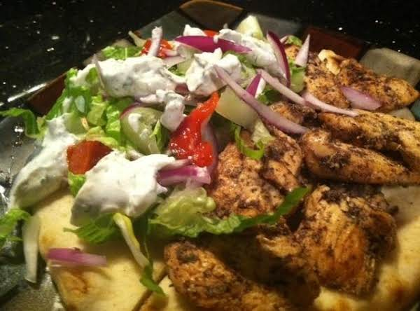 Chicken Gyro N Tzatziki Sauce Recipe