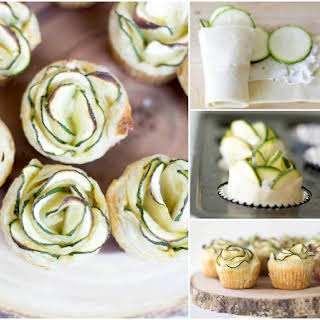 Zucchini Puff Pastry Appetizers.