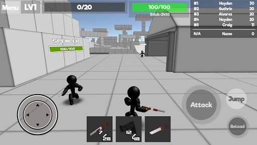 Stickman Unknown Battlegrounds 1.015 screenshots 2