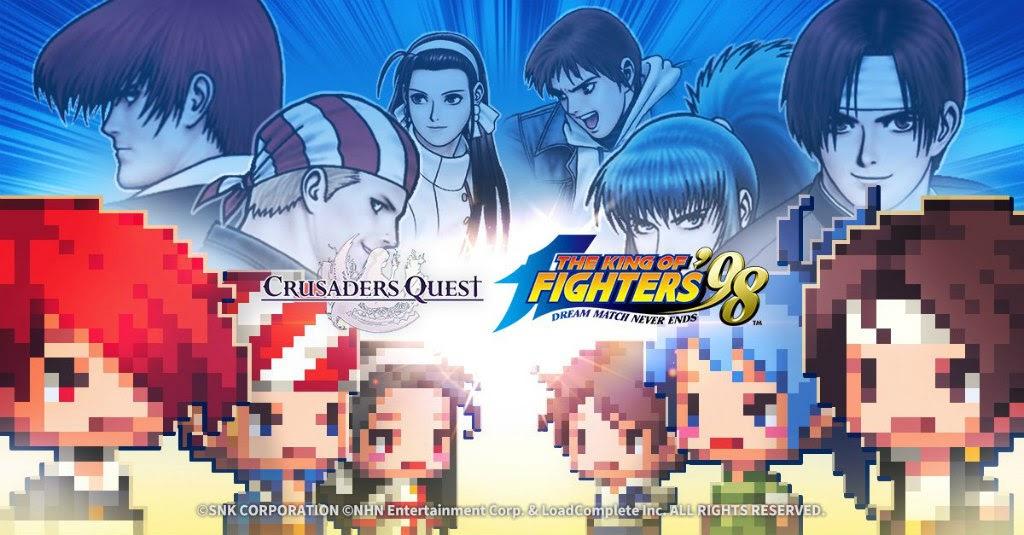 [Crusaders Quest] จัดโคลาโบร่วมกับ The King of Fighters '98