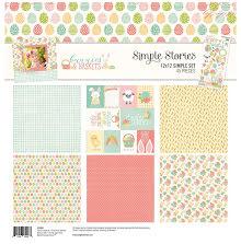 Simple Stories Simple Sets Collection Kit  12X12 - Bunnies & Baskets UTGÅENDE