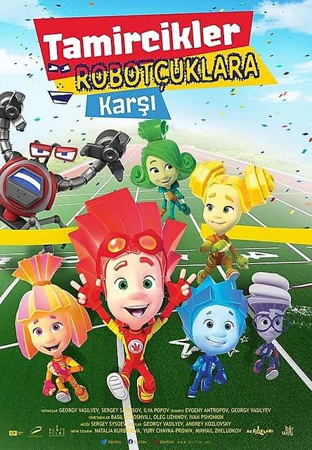 Tamircikler Robotçuklara Karşı - Fiksiki Protiv Krabotov (2020)