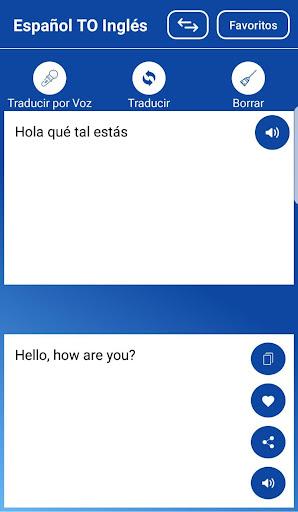 Traductor Español Ingles/Inglés Español Voz Texto screenshot 2