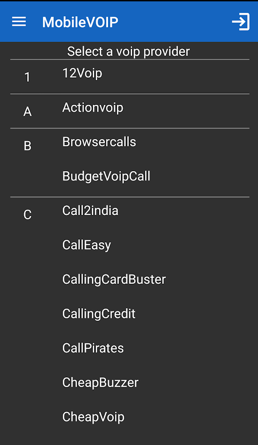 Rynga - Cheap Android Calls- screenshot
