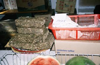Photo: 03112 ウランバートル/風景/ダライ・エージ(海の母)/食料品専門の市場/乳製品/団茶
