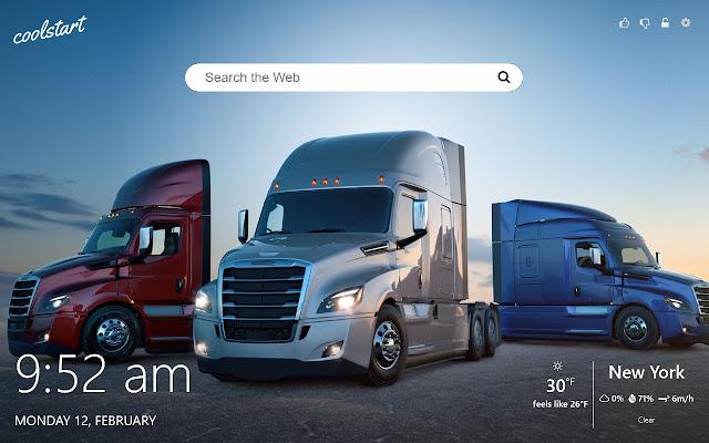 Trucks HD Wallpapers New Tab Theme