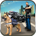 Police Dog n Police Car Rush icon