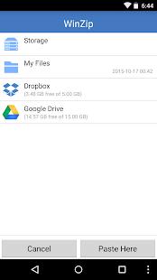 WinZip – Zip UnZip Tool Screenshot 3