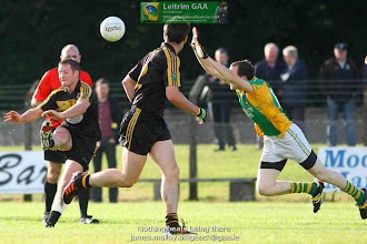 Photo: Connacht Gold Leitrim Senior Football Championship Group 3 Bornacoola 0-14 Drumreilly 0-6 at Cloone 4th August 2012 Referee Sheamus Mulhern